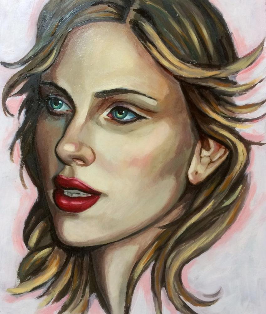 Scarlett Johansson par polyarny